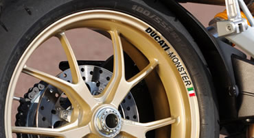 Ducati Monster Rim Decal set