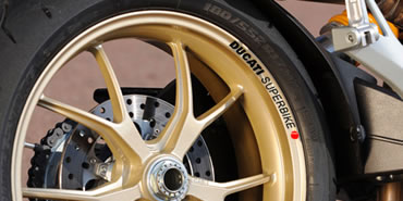 Ducati Superbike Rim Decal set  2 Colour